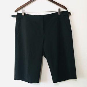 • new kenneth cole black dressy bermudas •